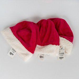 🎄🎄🎄NWT Santa Hats - size 3-6 months